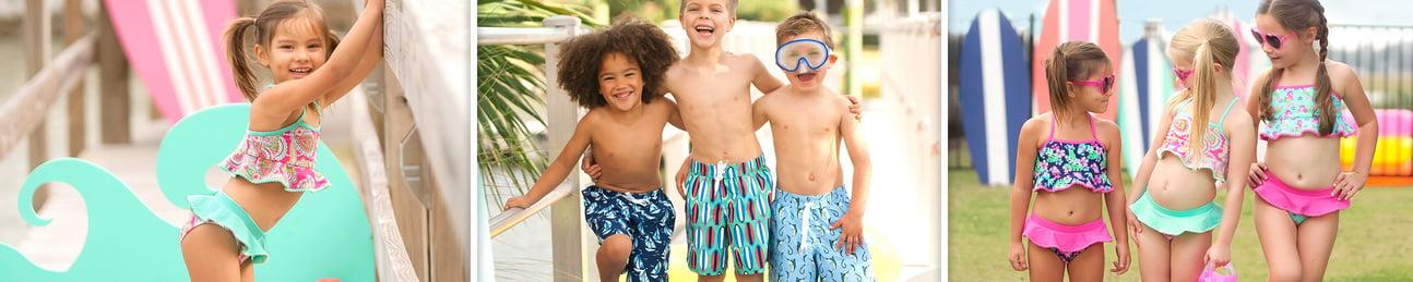 Wholesale Kids' Swimsuit Sets