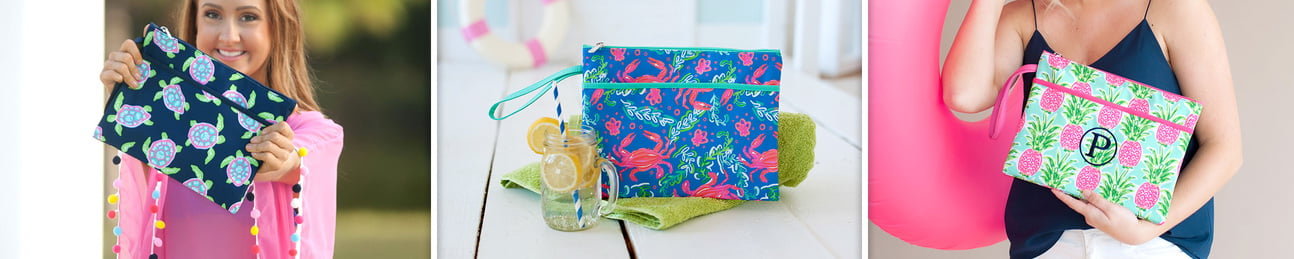 Wholesale Zip Pouch Wristlets