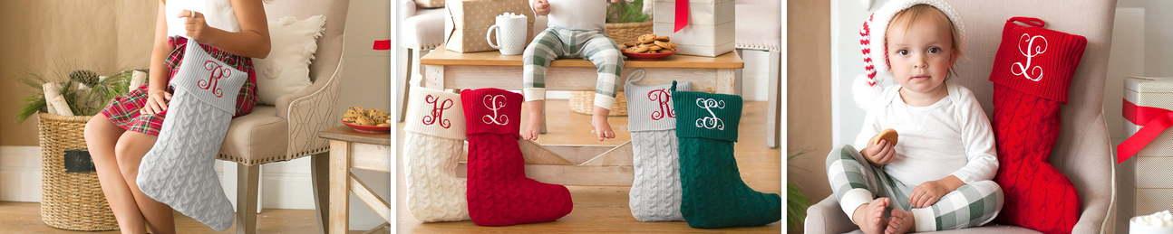 Christmas Stockings - Burlap