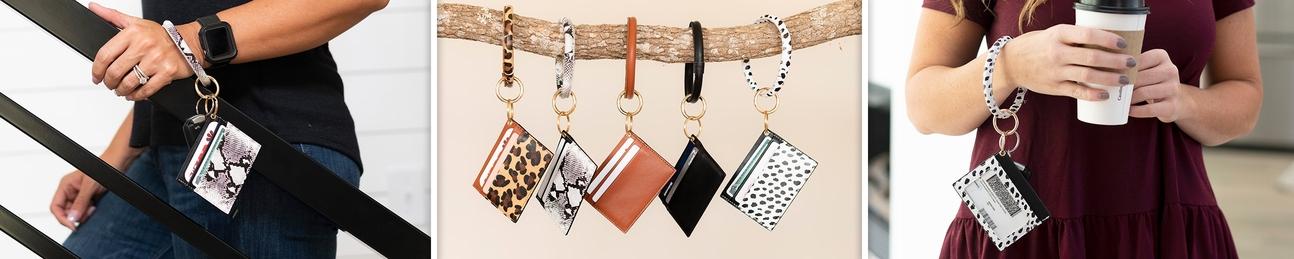 Wallet Keychain Bracelets