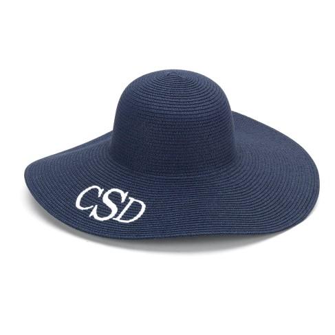 Navy Blue Adult Floppy Hat