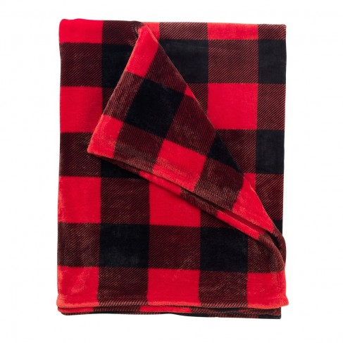 Red Buffalo Check Blanket