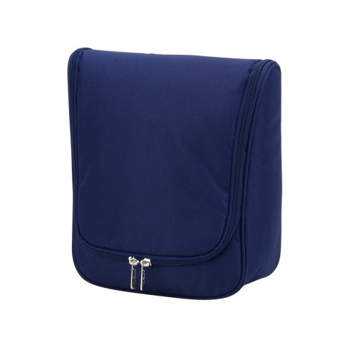 Navy Hanging Cosmetic Case