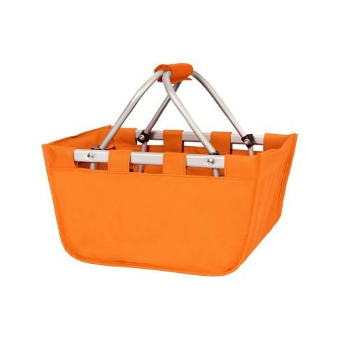Mini Orange Market Tote