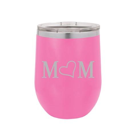 Mom 12oz Pink Tumbler