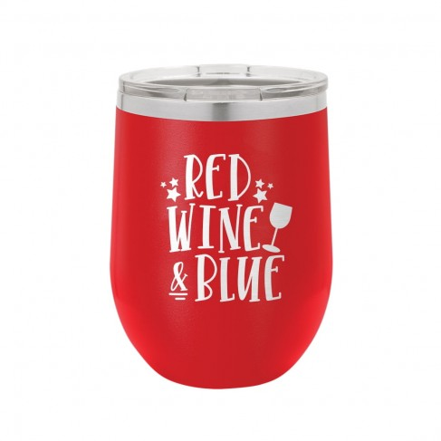 Red Red, Wine and Blue 12oz Insulated Tumbler